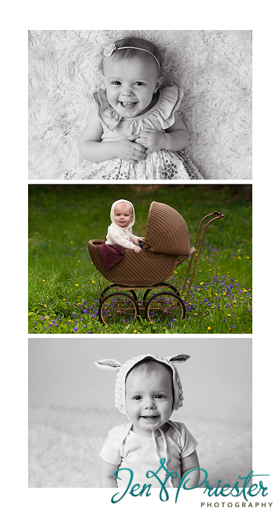 first birthday baby photography canton ann arbor MI