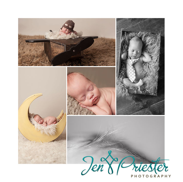 moon prop newborn photographer ann arbor canton Michigan