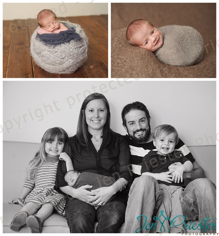 Royal oak michigan photographer jen priester specializes in newborns