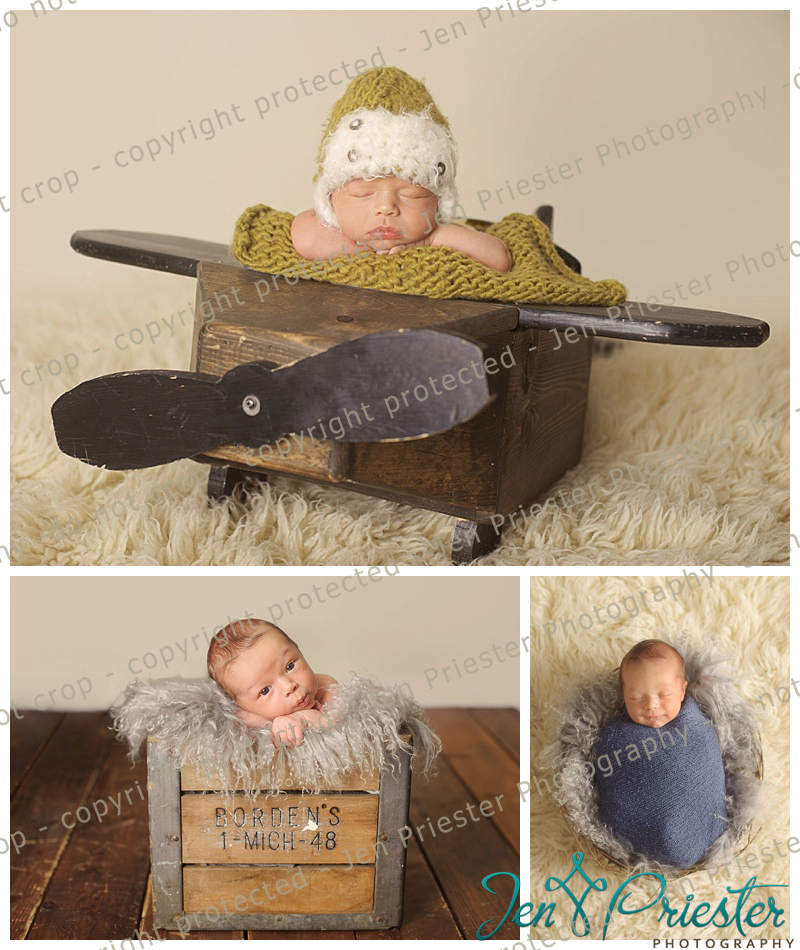 Washington Township Michigan Newborn Photographer