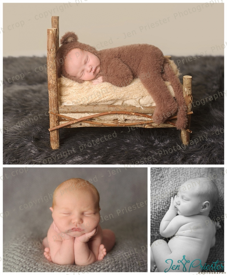Metro detroit michigan newborn photography