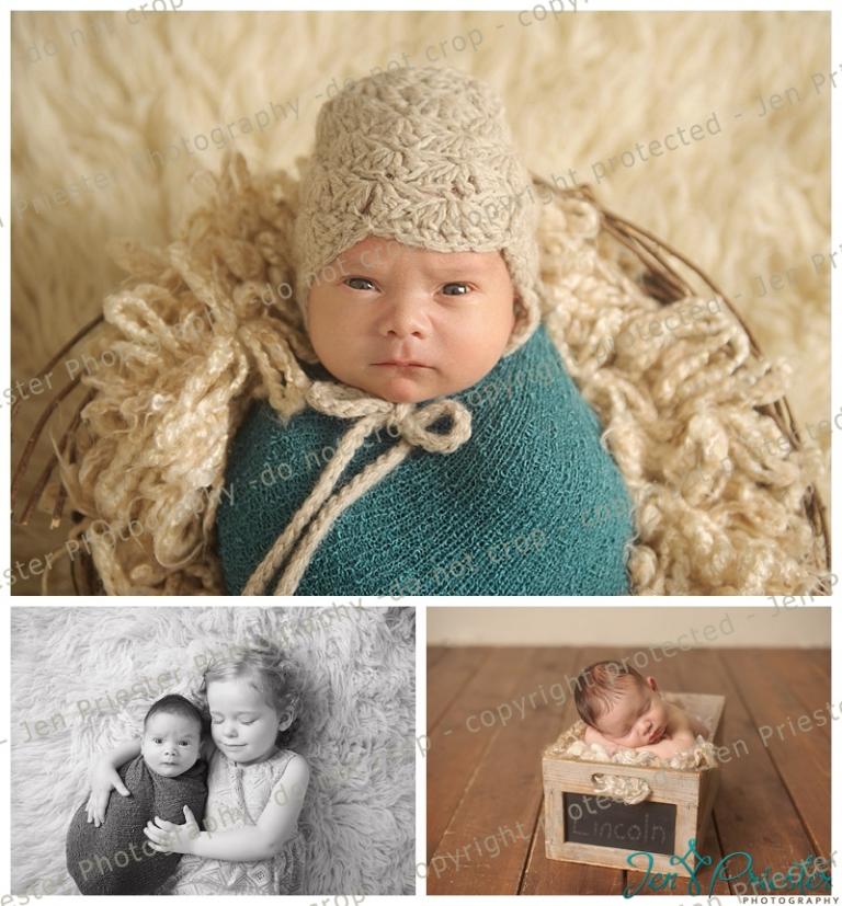 1adbb306578aa newborn sleeping in basket awake newborn with sibling photography newborn  and big sister Brighton photography