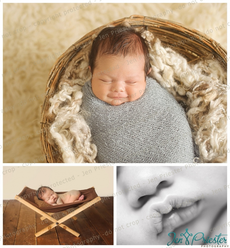 Michigan newborn photography session in chesterfield