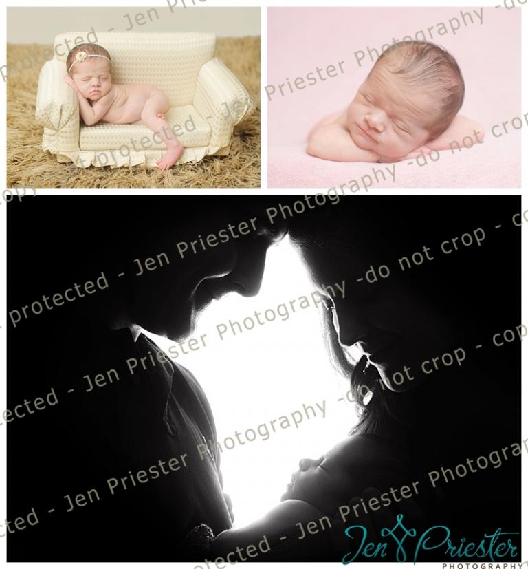 Detroit metro michigan newborn photographer