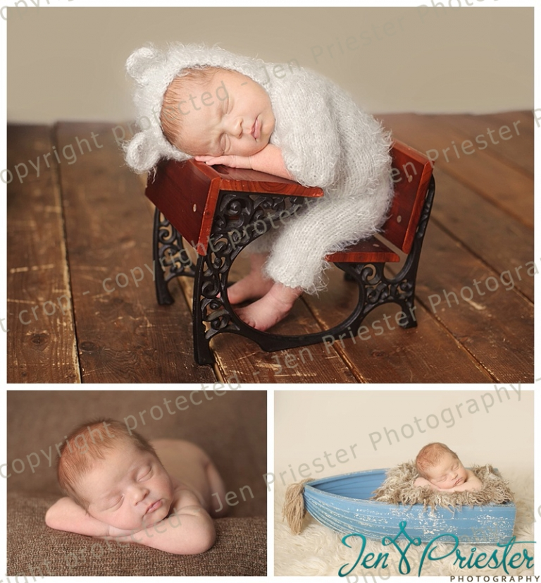 Ann arbor michigan newborn photography